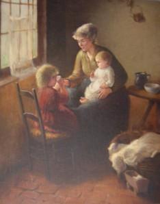 La madre premurosa (Bernard Pothast)